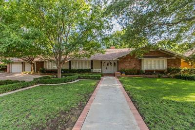 Lubbock Single Family Home For Sale: 4506 13th Street