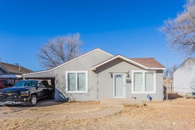 Slaton Single Family Home Under Contract: 925 S 10th Street