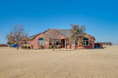 Lubbock Single Family Home For Sale: 3216 County Road 7610