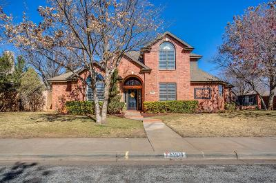 Lubbock Single Family Home For Sale: 5904 84th Street