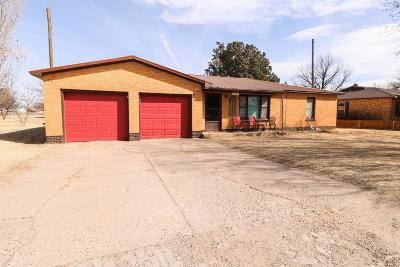 Bailey County, Lamb County Single Family Home For Sale: 603 Wilson Street