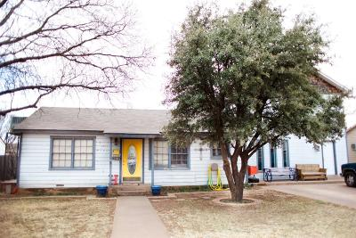 Lamesa Single Family Home For Sale: 805 N 15th Street