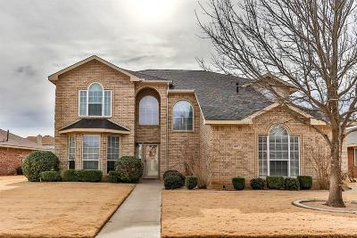 Lubbock Single Family Home Under Contract: 4907 Grinnell Street