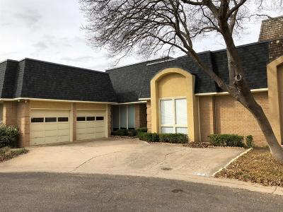 Lubbock Townhouse For Sale: 5115 2nd Street