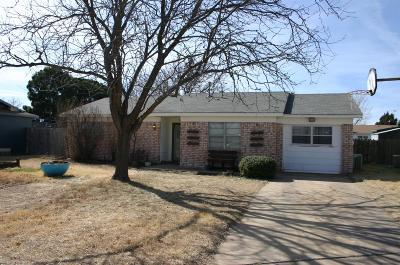 Lubbock Single Family Home For Sale: 3404 Juneau Avenue