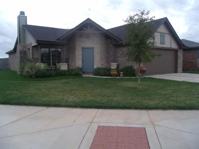 Lubbock Single Family Home For Sale: 2315 102nd Street