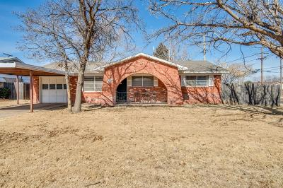 Lubbock Single Family Home For Sale: 5502 35th Street