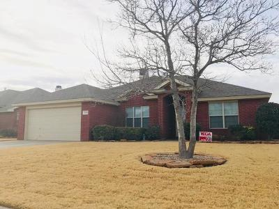 Lubbock Single Family Home For Sale: 7519 84th Street