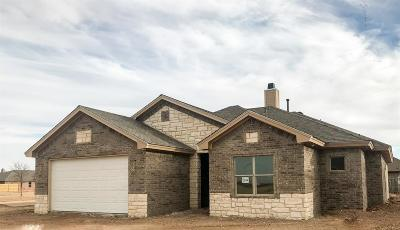 Lubbock Single Family Home For Sale: 5201 Marshall Street