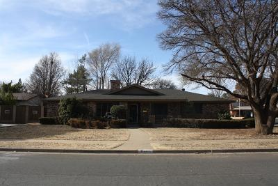 Lubbock Single Family Home For Sale: 6802 Norfolk Avenue