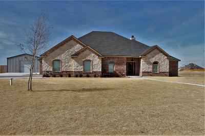 Lubbock Single Family Home For Sale: 6803 N County Road 2160