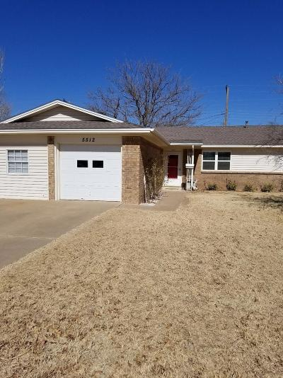 Single Family Home Under Contract: 5512 37th Street