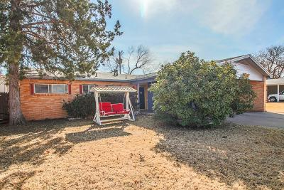 Lubbock Single Family Home For Sale: 4415 49th Street