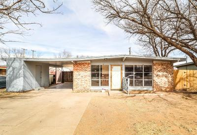 Lubbock Single Family Home For Sale: 2822 66th Street