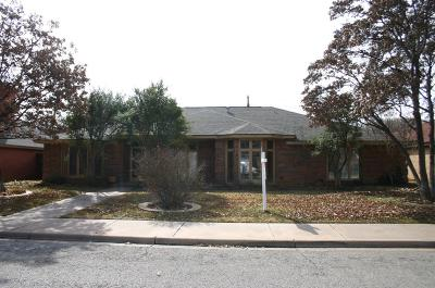 Lubbock Single Family Home Under Contract: 4419 87th Street