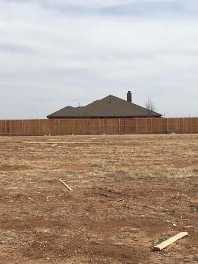 Lubbock Residential Lots & Land For Sale: 13605 Huron Avenue