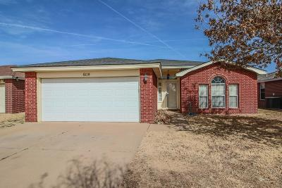 Lubbock Single Family Home For Sale: 6114 7th Drive