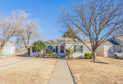 Lubbock Single Family Home For Sale: 2318 29th Street