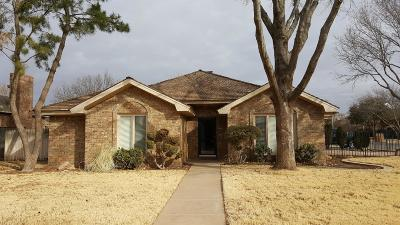 Lubbock Single Family Home For Sale: 6002 78th Street