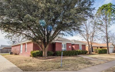 Lubbock Single Family Home Under Contract: 4901 65th Street