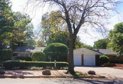 Lubbock Single Family Home For Sale: 3603 61st Street