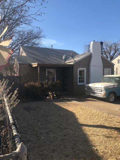 Lubbock Single Family Home For Sale: 2213 20th Street