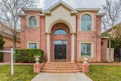 Lubbock Garden Home For Sale: 8916 York Place