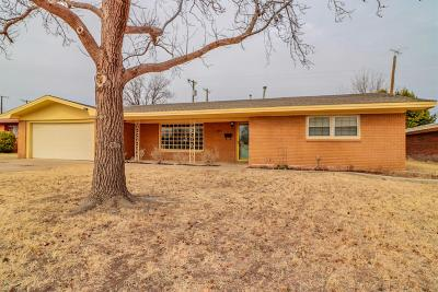 Lubbock Rental For Rent: 4906 17th Place
