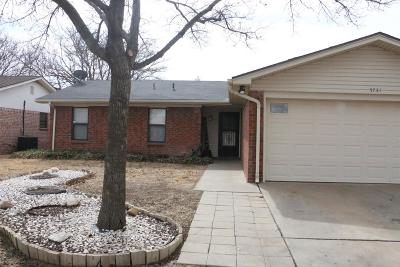 Lubbock Single Family Home For Sale: 5731 2nd Place Place