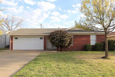 Lubbock Single Family Home For Sale: 4910 54th Street