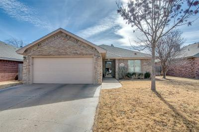 Lubbock Single Family Home For Sale: 2013 86th Street