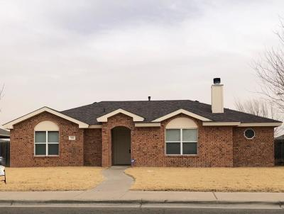 Lubbock TX Single Family Home For Sale: $119,900