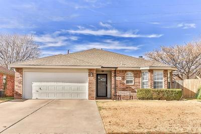 Lubbock TX Single Family Home For Sale: $153,000