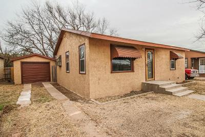 Slaton Single Family Home Under Contract: 940 S 15th Street