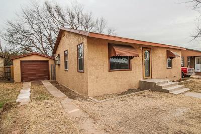 Slaton  Single Family Home Under Contract: 940 S 15th Street
