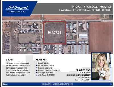 Residential Lots & Land For Sale: S University Avenue