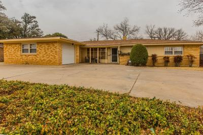 Lubbock Single Family Home For Sale: 4004 40th Street