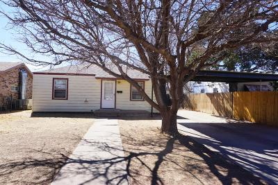 Lubbock Single Family Home For Sale: 3207 Amherst Street