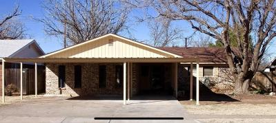 Lubbock Single Family Home Under Contract: 5416 46th Street