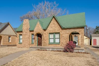 Lubbock Single Family Home For Sale: 2606 22nd Street