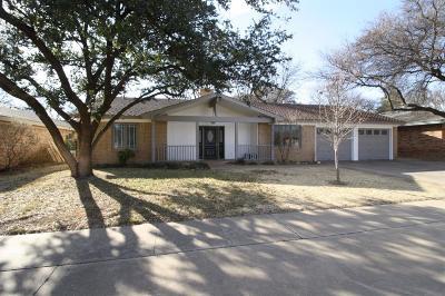 Single Family Home For Sale: 7916 Vicksburg Avenue