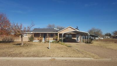 Tahoka Single Family Home Under Contract: 1708 S 9th Street