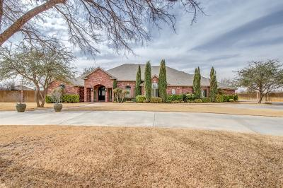 Lubbock Single Family Home For Sale: 15408 County Road 1860