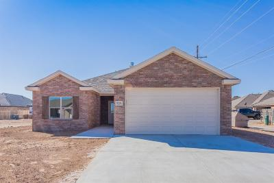 Lubbock TX Single Family Home For Sale: $191,745