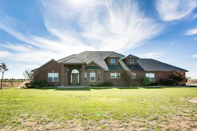 Lubbock Single Family Home Under Contract: 6707 County Road 7620