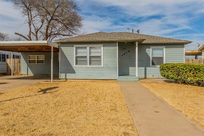 Single Family Home For Sale: 1312 38th Street