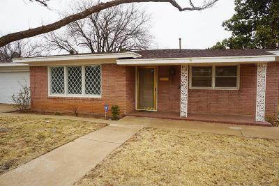Brownfield TX Single Family Home For Sale: $128,900