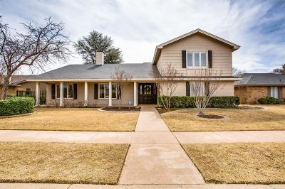 Lubbock Single Family Home For Sale: 4911 93rd Street