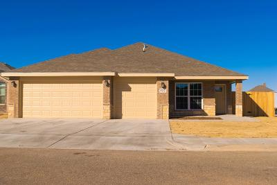 Lubbock TX Single Family Home Under Contract: $214,900