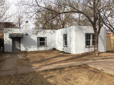 Lubbock Single Family Home Under Contract: 2216 25th Street
